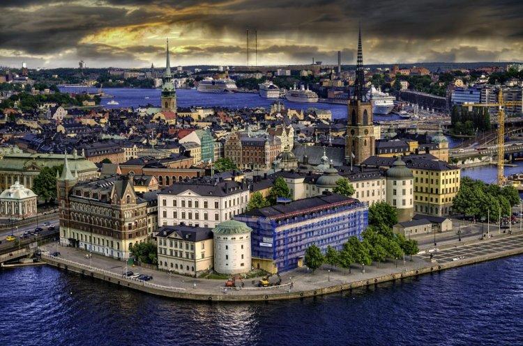 صورة لعاصمة السويد ستوكهولم