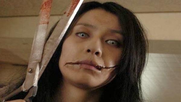 المرأة ذات الفم المشقوق