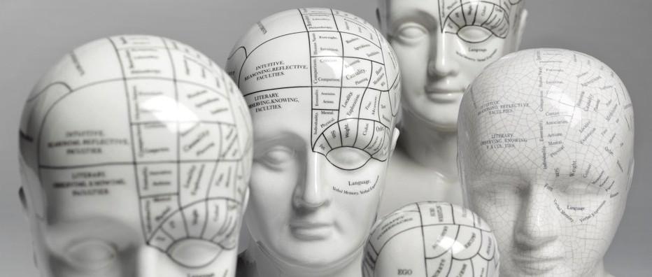 صورة توضح فراسة الدماغ