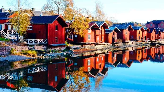 صورة لمدينة بورفو الفنلندية