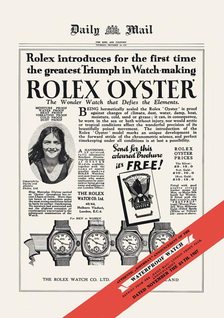 الديلي ميل تنشر السباحة البريطانية مرسيدس جليتسه وهي مرتدية ساعة رولكس