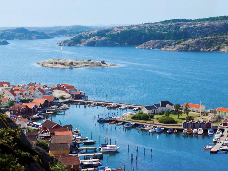 صورة لجزيرة جوتلاند في السويد
