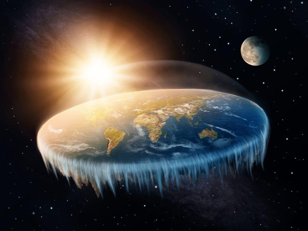 الارض المسطحة من النظريات العلمية التي تم تفنيدها
