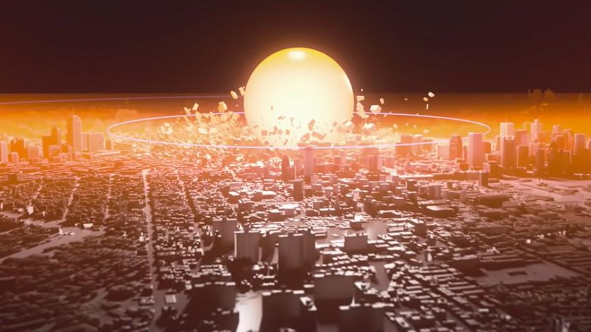 محاكاة للقنبلة النووية