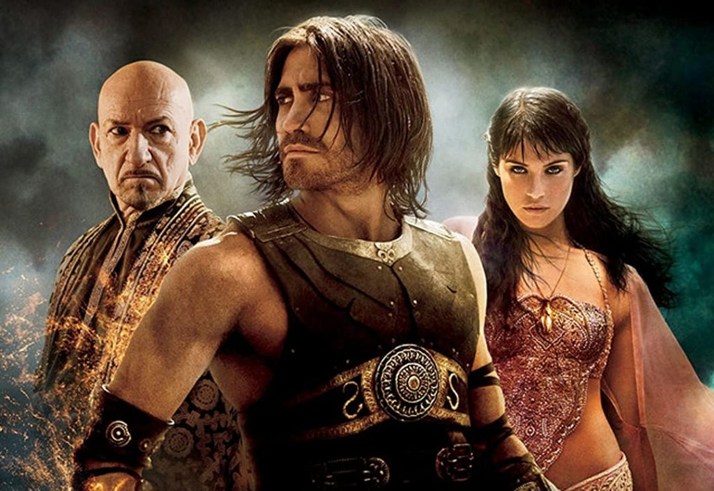 فيلم امير فارس رمال الزمن او Prince of Persia: The Sands of Time مستمد من لعبة فيديو