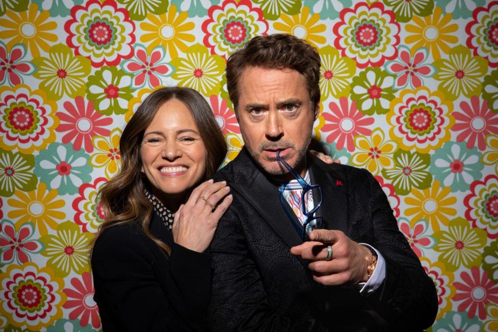 روبرت جون داوني مع زوجته سوزان داوني