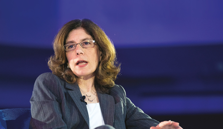 بينيلوبي كوجيانو جولدبرج Pinelopi Koujianou Goldberg رئيسة اقتصاديي البنك الدولي