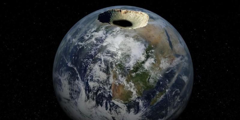 نظرية الأرض المجوفة