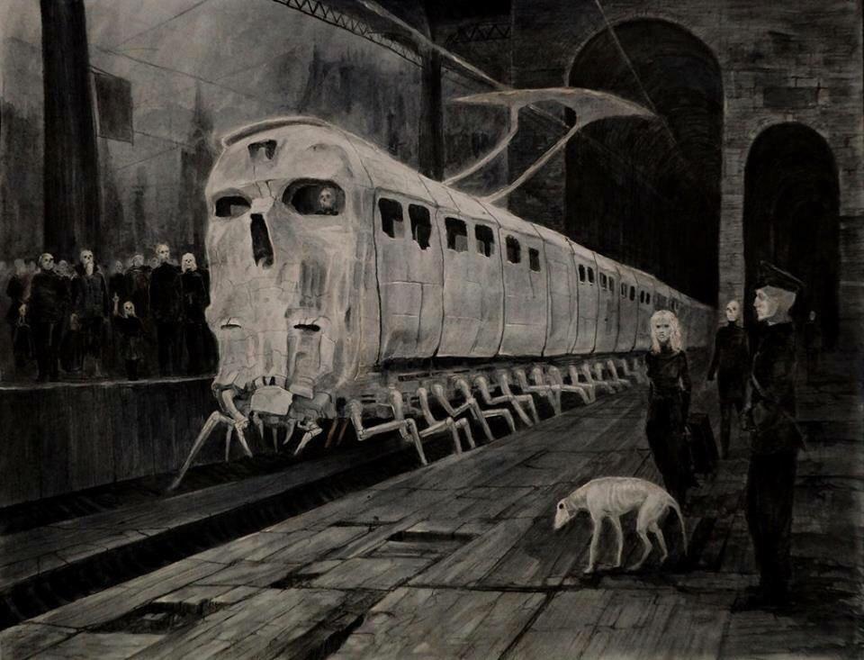 لم ينجو من هذا القطار المشؤوم سوى راكبين