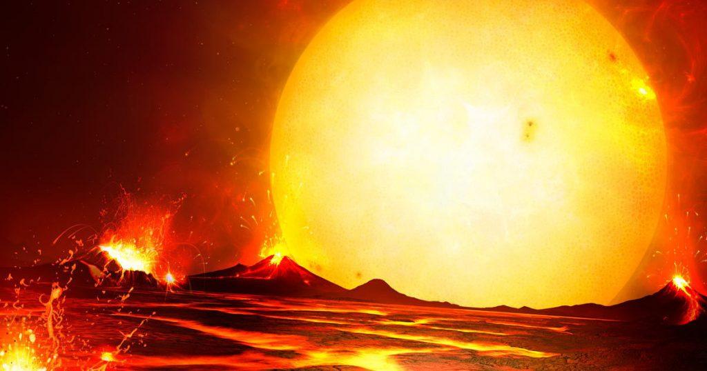 الجانب المشتعل من  كوكب CoRoT-7b تصل درجة حرارته ل 2000 درجة مئوية