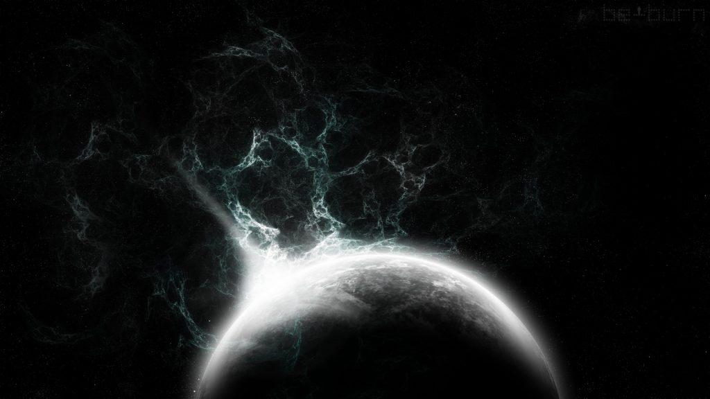 يكمن ظلام الفضاء في عدم وجود مادة كافية فيه مقارنة بالفراغ