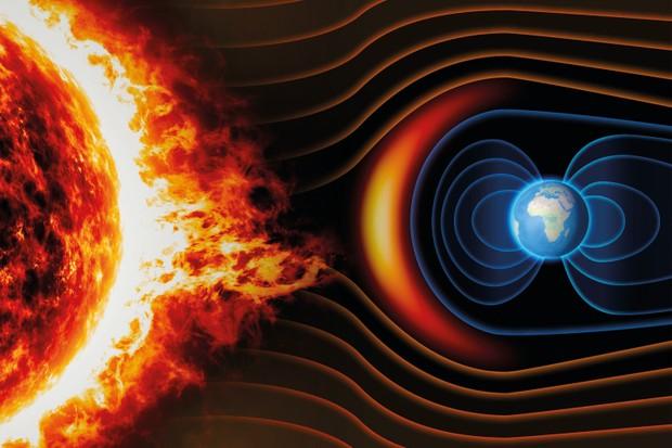 استحالة الحياة على كوكب Kepler-438b بسبب أنه لا يمتلك مجال مغناطيسي
