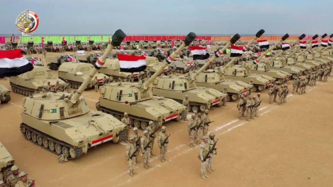 مصر لديها ميزانية هائلة خاصة بالجيش مما يضعها في ضمن لائحة الاقوى 20 جيش