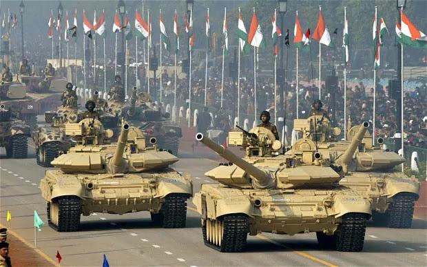الهند هي واحدة من أكبر القوى العسكرية على هذا الكوكب ولها خامس اقوى جيش في العالم