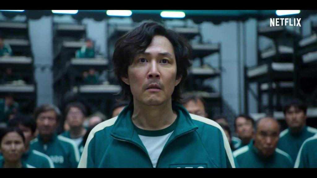 سيونج هون بطل مسلسل لعبة الحبار