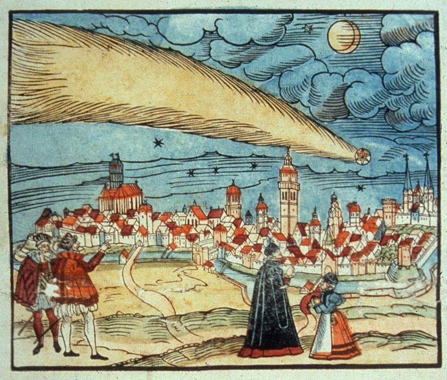مذنب هالي يعتبر من اقدم الاجرام السماوية التي مرت على تاريخ الانسان