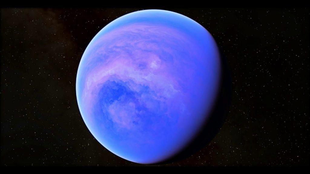 تبين للعلماء ان كوكب GJ1214b , مكون غالبيته من الماء