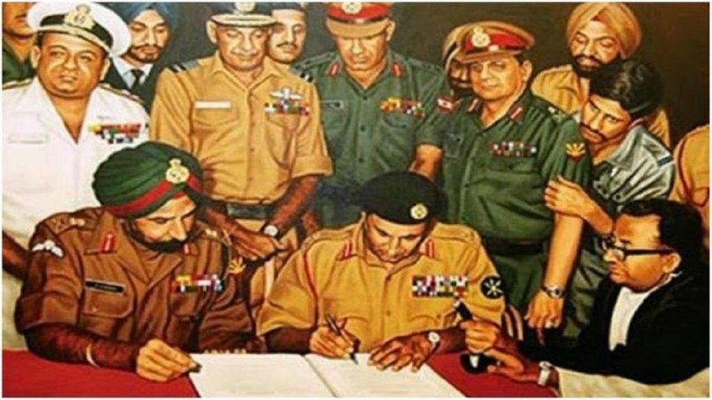 الهزيمة باكستان أمام الهند سنة 1971 كانت من اسباب التي دفعت باكستان لصنع سلاح نووي